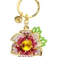 Juicy Couture | Flower Charm Key Fob