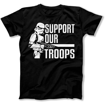 Support Our Troopers - T Shirt