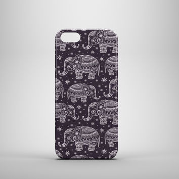 Elephant Art Pattern Custom Case for iPhone 6 6 Plus iPhone 5 5s 5c GalaxyS 3 4 & 5 6 and Note 3 4 5