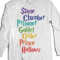 List Of Harry Potter Movies (Vintage Long Sleeve) |