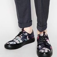 Paul Smith Jeans Libre Print Trainers at asos.com