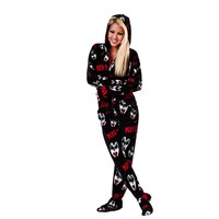 Buy KISS Dr. Love Hooded Onesuits Online | World's Best Pajamas