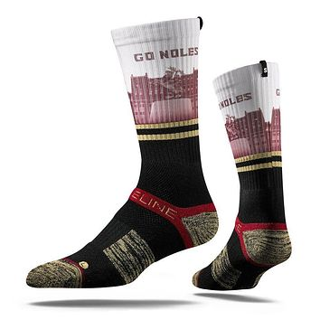 Strideline® 2.0 Florida State Seminoles Campus View Adult Crew Socks