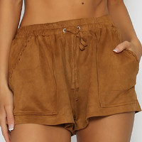 Adios Shorts - Brown
