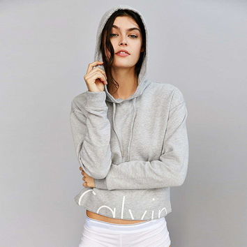 2 Pieces  Women Tracksuits Cotton Letter Printed Long Sleeve Hoodies & Shorts Casual Loose Fashion Set.