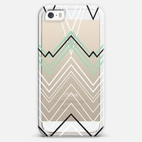 Mint Chevy Transparent #3 iPhone 5s case by Project M | Casetify