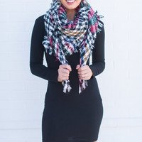 Looking Good Piko Dress, Black