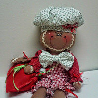 christmas decoration  gingerbread doll