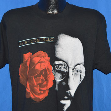 90s Elvis Costello Mighty Like a Rose t-shirt Large