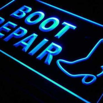 Shoe Boot Repair LED Neon Light Sign