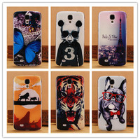 Fashion 0.5mm Ultra Thin Case For Samsung Galaxy S4 i9500 SIV Mobile Phone Cases Back Cover Tiger Lion Dog Butterfly Panda