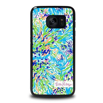 LILLY PULITZER SEA SOIREE Samsung Galaxy S7 Edge Case Cover