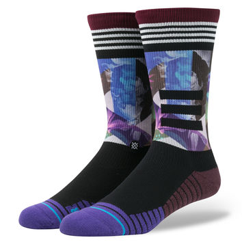Stance Tome Point Socks In Purple
