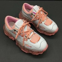 Balenciaga Triple-S Dad Torre Sneakers Pink Women Trainers Fashion Casual Sports Running Shoes