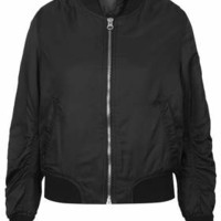 PETITE Ultimate Bomber Jacket - Black
