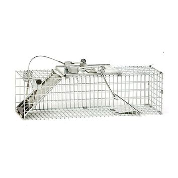 "Havahart® 1082 1-Door Easy Set® Cage Trap for Rats/Squirrels,Small, 17.6""x6""x7.4"""