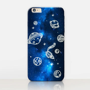 Planets Phone Case For - iPhone 6 Case - iPhone 5 Case - iPhone 4 Case - Samsung S4 Case - iPhone 5C - Tough Case - Matte Case
