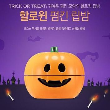 THE FACE SHOP Holloween Pumpkin Lip Balm