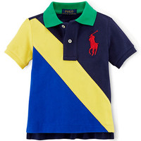 Ralph Lauren Childrenswear Boys 2-7 Colorblocked Polo Shirt