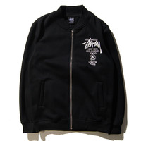 Stussy Sports On Sale Hot Deal Korean Zippers Jacket [9391649223]