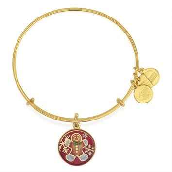 Gingerbread Man Charm Bangle