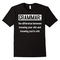 Grammar: the difference between ... Funny T-Shirt