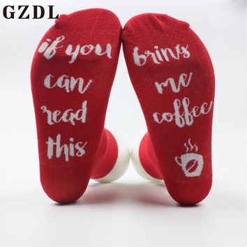 GZDL Casual Letter Print Socks Woman New Beer Striped Warm Lovely Socks 7 Colors Autumn Winter Fashion Women Socks CL4561