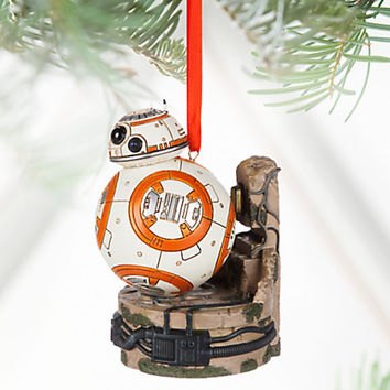 Disney Store 2016 Star Wars BB-8 Sketchbook Christmas Ornament New with Tags