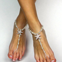 Starfish Barefoot Sandals Beach Wedding Sandals