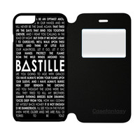 Bastille Lyric Pompeii iPhone 6 Plus/6S Plus Flip Case | casefantasy