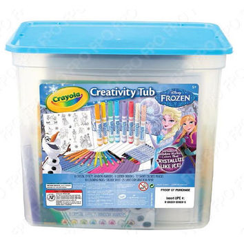 Crayola Disney Frozen Activity Tub