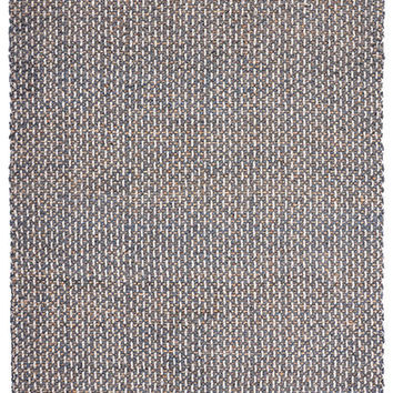 Mixed Jute Weaves Dobby Area Rug in Slate and Natural design by Classic Home