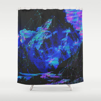Techni-color Shower Curtain by DuckyB (Brandi)