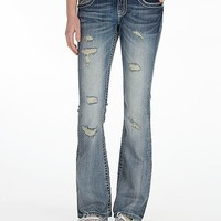 Miss Me Grinded Boot Stretch Jean