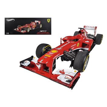 Ferrari F1 F138 Fern&o Alonso China GP 2013 Elite 1:18 Diecast Hotwheels