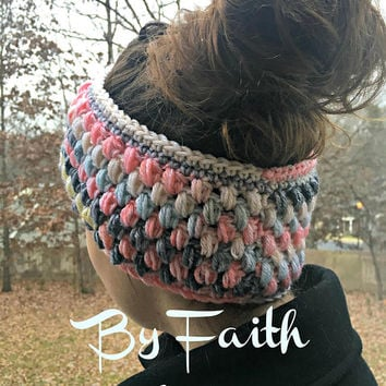 Ear Warmer - Crochet Ear Warmer - Crochet Headband - Women's Accessories - Stocking Stuffers - Gifts For Her