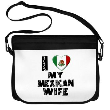 I Heart My Mexican Wife Neoprene Laptop Shoulder Bag by TooLoud