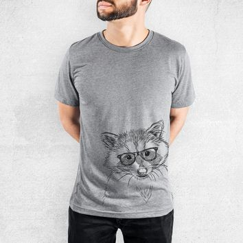 Randy the Raccoon - Tri-Blend Unisex Crew Shirt