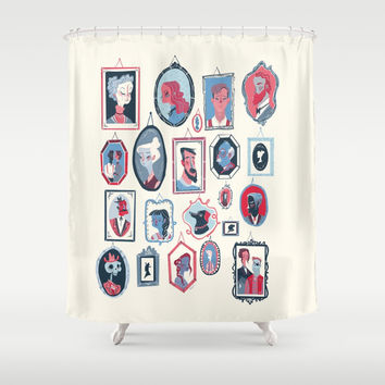 Hang ups Shower Curtain by Karl James Mountford