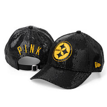 Pittsburgh Steelers Sequin Hat - PINK - Victoria's Secret