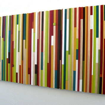 Contemporary Wall Art, Wood Sculpture, Wood Wall Art,
