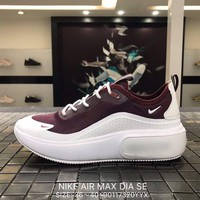 NIKE AIR MAX DIA SE Mesh white&purple Sports Running Shoes AR7410 Best Goods