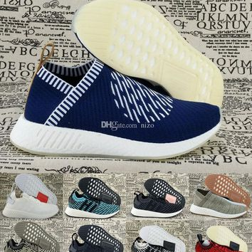 2017 NMD City Sock 2 Ronin NMD X Naked x Kith R2 Runner PK Primeknit Boost Men Womens Shoes 5-11