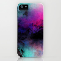 Neon Radial Dreams iPhone & iPod Case by Caleb Troy