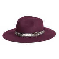 Wool Felt Hat - from H&M