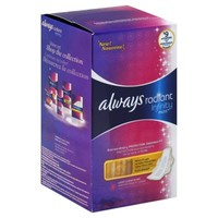 Always Radiant Infinity 32-Count Regular Pad With Wings