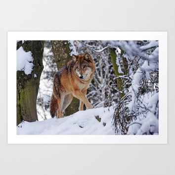 Hunting Art Print by ArtEscape