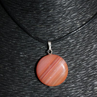 Red Agate Stone Choker Necklace