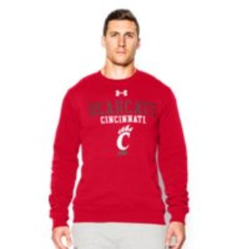 Under Armour Men's Cincinnati UA Rival Fleece Crew
