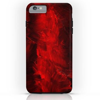Society6 Red Tough Case iPhone 6 Plus